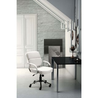 Director Relax White Office Chair