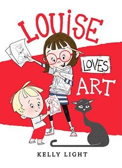 Louise Loves Art (Hardcover)