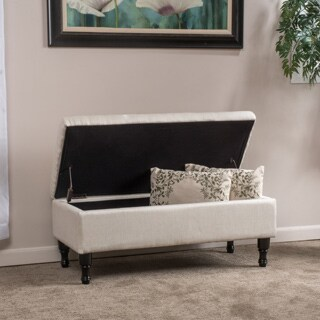 Christopher Knight Home Chantelle Fabric Storage Ottoman