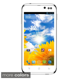 BLU Advance 4.5 A310a Unlocked GSM Dual-SIM White Android Cell Phone
