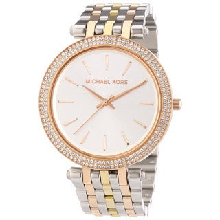 Michael Kors Women's MK3203 'Darci' Stainless Steel Rose Gold Watch