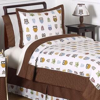 Sweet Jojo Designs Night Owl 3-piece Full/Queen Comforter Set
