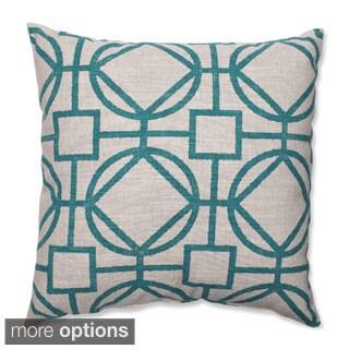 Suri Turquoise Throw Pillow