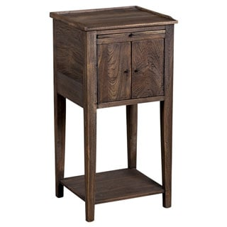 Handcrafted Siletz Teak Wood Side Table (India)
