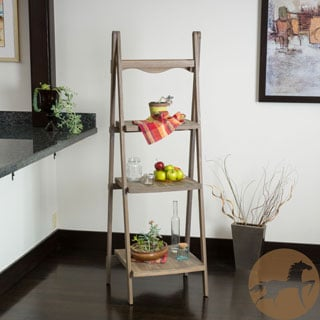 Christopher Knight Home Mabel Sandblast Finish Three Tier Ladder Shelf