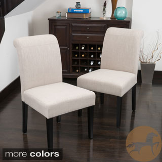 Christopher Knight Home Canberra Roll-Top Dining Chair (Set of 2)
