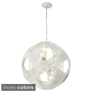 Varaluz At-Mesh-Sphere 6-light Pendant