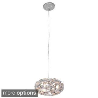 Varaluz Fascination 3-light 12-inch Donut Chandelier