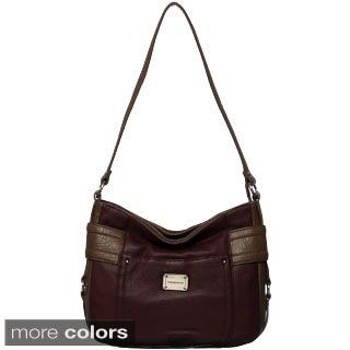 Stone Mountain Greenwich Leather Hobo Bag