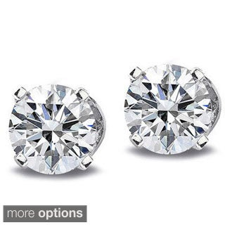 14k White or Yellow Gold 1/3ct TDW Diamond Stud Earrings (G-H, I2-I3)