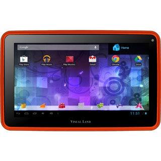 Visual Land Prestige Pro 7D with Pro Folio Bundle (Orange)