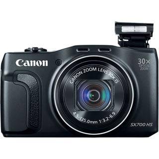 Canon PowerShot SX700 HS 16.1 Megapixel Compact Camera - Black