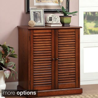 Furniture of America Delza 5-shelf Shoe Cabinet
