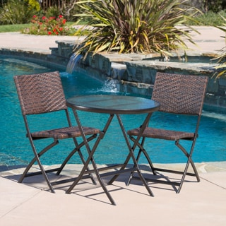 El Paso Outdoor 3-piece Multibrown Folding Set