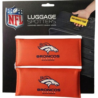 The Original Patented Luggage Spotter NFL Denver Broncos Handle Wraps (Set of 2)