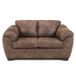 Signature Design by Ashley Jathan Mocha Loveseat