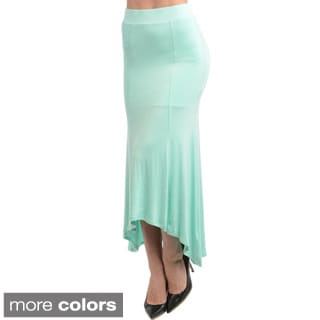 Feellib Women's Stretch Maxi Skirt