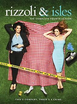 Rizzoli & Isles: The Complete Fourth Season (DVD)
