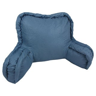 Corded Cotton Bedrest Back Support Pillow