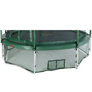 Green 15-foot Trampoline Safety Skirt