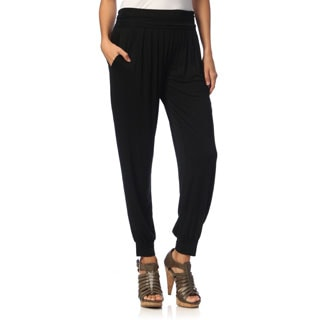White Mark Women's Jogger Pants