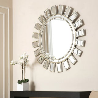 ABBYSON LIVING 'Sunburst' Round Wall Mirror