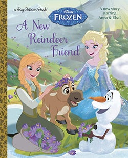 A New Reindeer Friend (Hardcover)