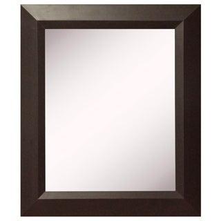 American Made Rayne Midwest Walnut Wall Mirror