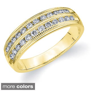 14k Gold 1ct TDW Diamond Anniversary Wedding Band Ring (H-I, I1-I2)