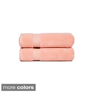 Zero Twist Super Absorbent Bath Towel (Set of 2)