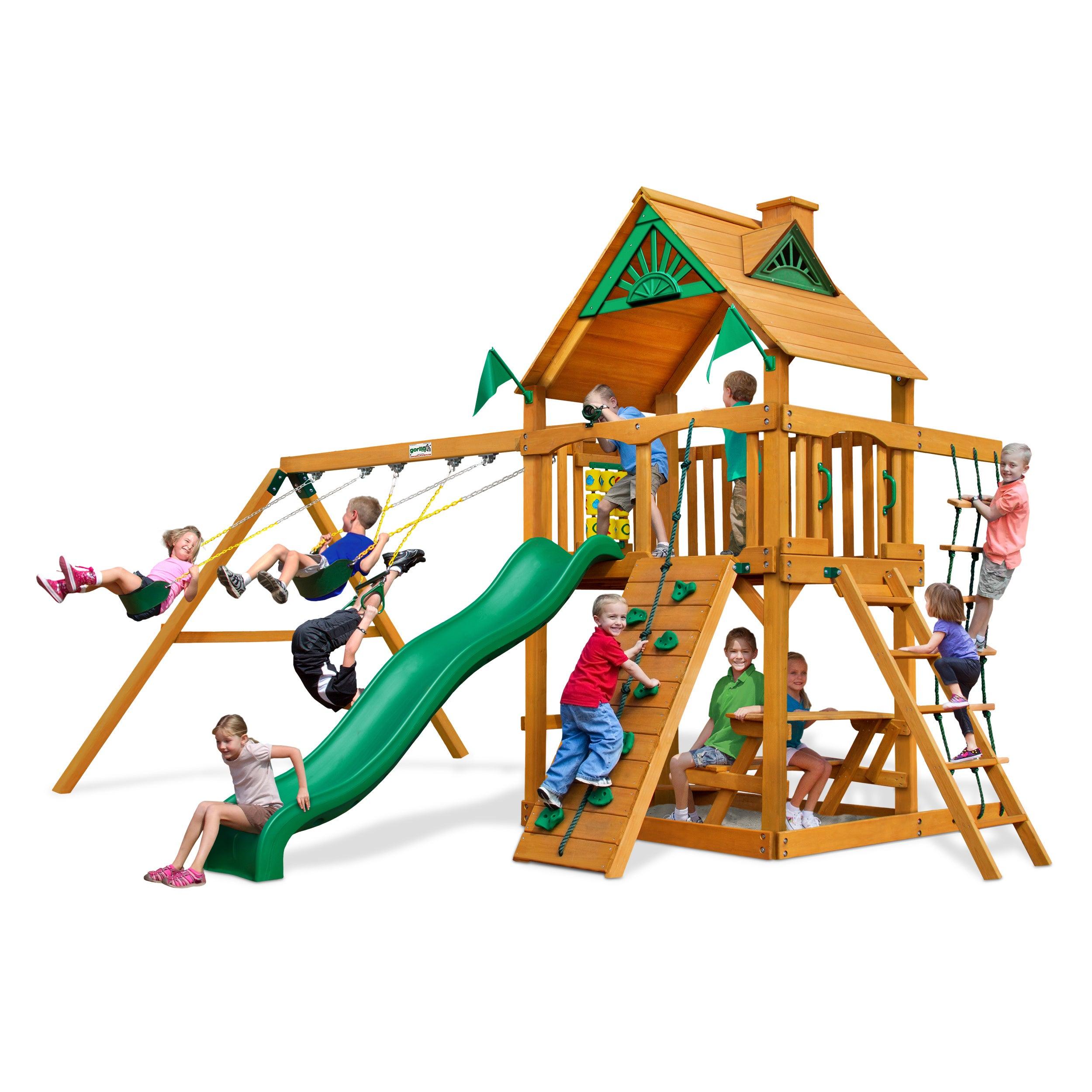 Gorilla Playsets Chateau II AP Playset