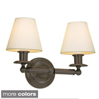 Backbay Antique Bronze 2-light Wall Sconce