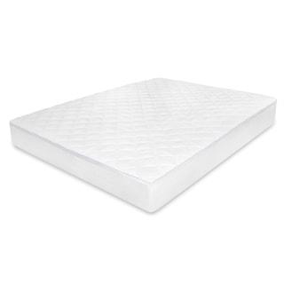 SwissLux Washable Euro Top Memory Foam Mattress Pad