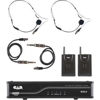 CAD Audio GXLUBB Wireless - 2 Belt Pack Transmitters