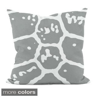 18 x 18-inch Animal Print Decorative Throw Pillow