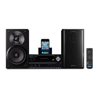 Sharp XL-HF202P Micro Hi-Fi System - 100 W RMS - iPod Supported