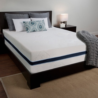 Sealy 14-inch California King-size Memory Foam Mattress