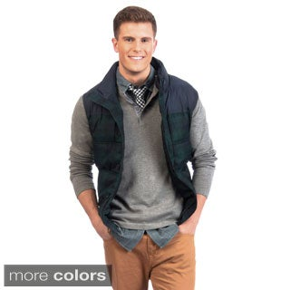 Tommy Hilfiger Mixed Media Puffer Vest