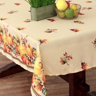 Harvest Blessings Textured Tablecloth
