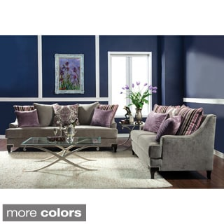 Titel 2-piece Living Room Set with Matching Pillows