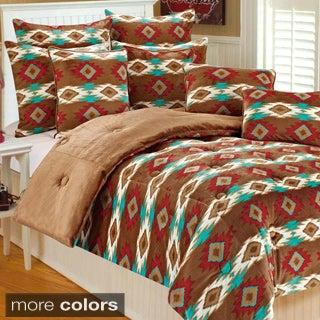 Paco Geometric 3-piece Comforter Set
