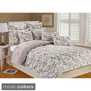 Selma Bird Microplush 3-piece Comforter Set