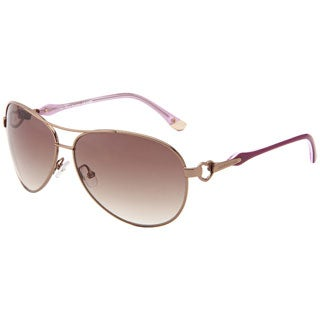 Juicy Couture Womens 'Beach Bum/S' Almond Gradient Sunglasses