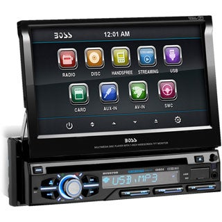 "Boss BV9979B Car DVD Player - 7"" Touchscreen LCD - Single DIN"