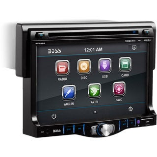 "Boss BV8968 Car DVD Player - 7"" Touchscreen LCD - 68 W RMS - Single D"