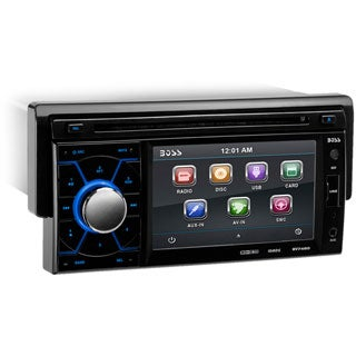 "Boss BV7460 Car DVD Player - 4.6"" Touchscreen LCD - Single DIN"