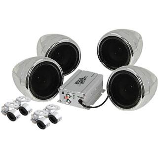 Boss MC470B 4.0 Speaker System - 500 W RMS - Wireless Speaker(s)