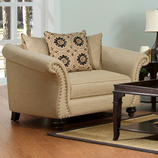 Fairmont Designs Made To Order Grace Beige Chair