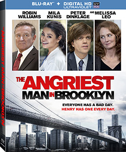 The Angriest Man In Brooklyn (Blu-ray Disc)
