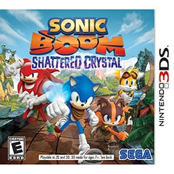 Nintendo 3DS - Sonic Boom: Shattered Crystal
